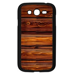 Wood Samsung Galaxy Grand Duos I9082 Case (black) by Brittlevirginclothing