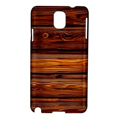 Wood Samsung Galaxy Note 3 N9005 Hardshell Case by Brittlevirginclothing