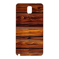 Wood Samsung Galaxy Note 3 N9005 Hardshell Back Case by Brittlevirginclothing