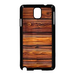 Wood Samsung Galaxy Note 3 Neo Hardshell Case (black) by Brittlevirginclothing