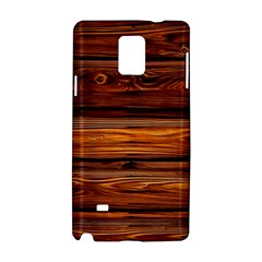 Wood Samsung Galaxy Note 4 Hardshell Case by Brittlevirginclothing