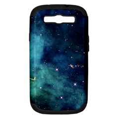 Space Samsung Galaxy S Iii Hardshell Case (pc+silicone) by Brittlevirginclothing