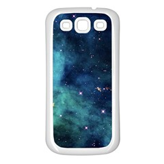 Space Samsung Galaxy S3 Back Case (white) by Brittlevirginclothing