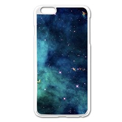 Space Apple Iphone 6 Plus/6s Plus Enamel White Case by Brittlevirginclothing