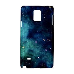 Space Samsung Galaxy Note 4 Hardshell Case by Brittlevirginclothing