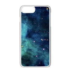 Space Apple Iphone 7 Plus White Seamless Case by Brittlevirginclothing