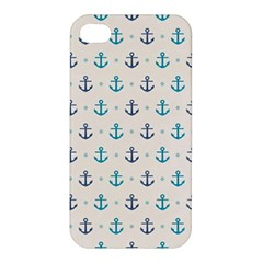 Sailor Anchor Apple Iphone 4/4s Premium Hardshell Case by Brittlevirginclothing