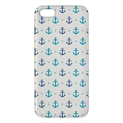 Sailor Anchor Apple Iphone 5 Premium Hardshell Case by Brittlevirginclothing