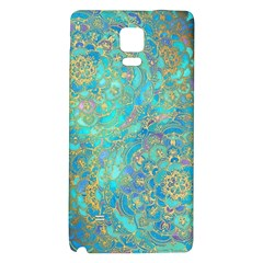 Celtic Galaxy Note 4 Back Case by Brittlevirginclothing