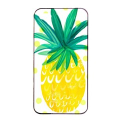 Cute Pineapple Apple Iphone 4/4s Seamless Case (black) by Brittlevirginclothing