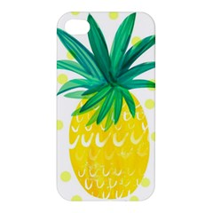 Cute Pineapple Apple Iphone 4/4s Hardshell Case by Brittlevirginclothing