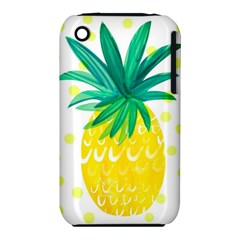 Cute Pineapple Iphone 3s/3gs by Brittlevirginclothing