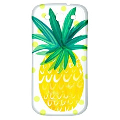 Cute Pineapple Samsung Galaxy S3 S Iii Classic Hardshell Back Case by Brittlevirginclothing