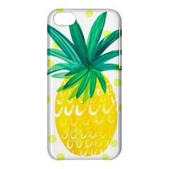 Cute Pineapple Apple Iphone 5c Hardshell Case by Brittlevirginclothing