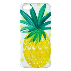 Cute Pineapple Iphone 5s/ Se Premium Hardshell Case by Brittlevirginclothing