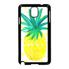 Cute Pineapple Samsung Galaxy Note 3 Neo Hardshell Case (black)