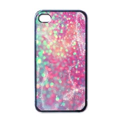 Rainbow Sparles Apple Iphone 4 Case (black) by Brittlevirginclothing