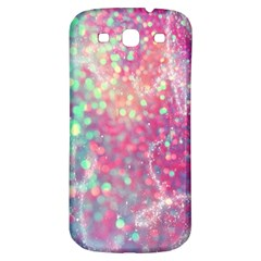 Rainbow Sparles Samsung Galaxy S3 S Iii Classic Hardshell Back Case by Brittlevirginclothing