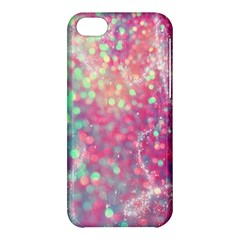 Rainbow Sparles Apple Iphone 5c Hardshell Case by Brittlevirginclothing