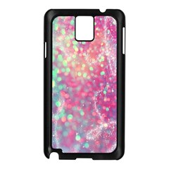 Rainbow Sparles Samsung Galaxy Note 3 N9005 Case (black) by Brittlevirginclothing