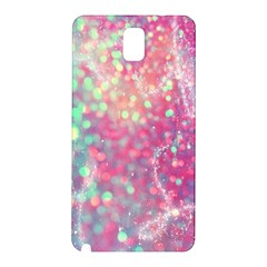 Rainbow Sparles Samsung Galaxy Note 3 N9005 Hardshell Back Case by Brittlevirginclothing