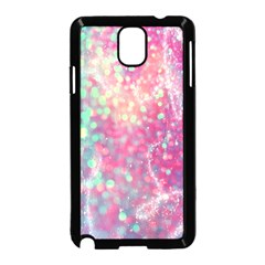 Rainbow Sparles Samsung Galaxy Note 3 Neo Hardshell Case (black)