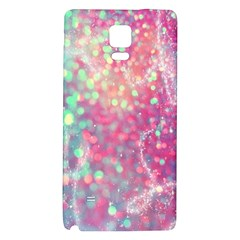 Rainbow Sparles Galaxy Note 4 Back Case by Brittlevirginclothing