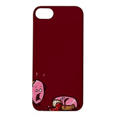 Funny Donut Apple Iphone 5s/ Se Hardshell Case by Brittlevirginclothing