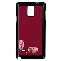 Funny Donut Samsung Galaxy Note 4 Case (black)