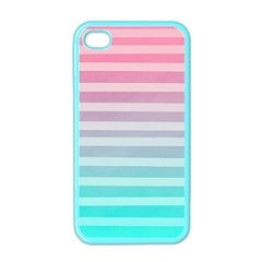 Colorful Vertical Lines Apple Iphone 4 Case (color) by Brittlevirginclothing