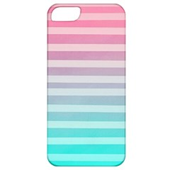 Colorful Vertical Lines Apple Iphone 5 Classic Hardshell Case by Brittlevirginclothing