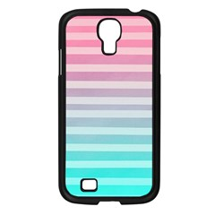 Colorful Vertical Lines Samsung Galaxy S4 I9500/ I9505 Case (black)