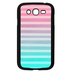 Colorful Vertical Lines Samsung Galaxy Grand Duos I9082 Case (black) by Brittlevirginclothing