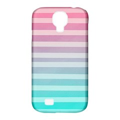 Colorful Vertical Lines Samsung Galaxy S4 Classic Hardshell Case (pc+silicone) by Brittlevirginclothing