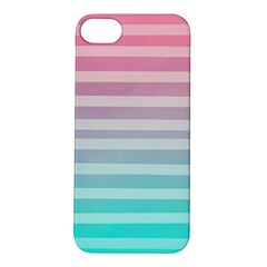 Colorful Vertical Lines Apple Iphone 5s/ Se Hardshell Case by Brittlevirginclothing