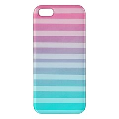 Colorful Vertical Lines Iphone 5s/ Se Premium Hardshell Case by Brittlevirginclothing