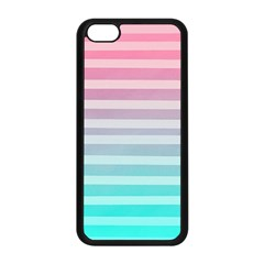 Colorful Vertical Lines Apple Iphone 5c Seamless Case (black) by Brittlevirginclothing
