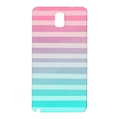 Colorful Vertical Lines Samsung Galaxy Note 3 N9005 Hardshell Back Case by Brittlevirginclothing
