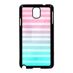 Colorful Vertical Lines Samsung Galaxy Note 3 Neo Hardshell Case (black) by Brittlevirginclothing