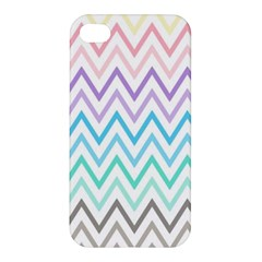 Colorful Wavy Lines Apple Iphone 4/4s Hardshell Case