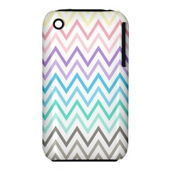 Colorful Wavy Lines Iphone 3s/3gs by Brittlevirginclothing
