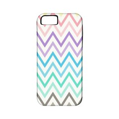 Colorful Wavy Lines Apple Iphone 5 Classic Hardshell Case (pc+silicone) by Brittlevirginclothing