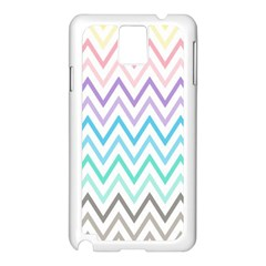 Colorful Wavy Lines Samsung Galaxy Note 3 N9005 Case (white) by Brittlevirginclothing