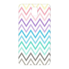 Colorful Wavy Lines Samsung Galaxy Note 3 N9005 Hardshell Back Case by Brittlevirginclothing