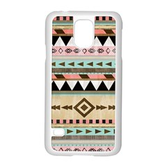 Dark Bohemian Samsung Galaxy S5 Case (white) by Brittlevirginclothing