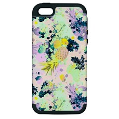 Paint Apple Iphone 5 Hardshell Case (pc+silicone)