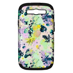 Paint Samsung Galaxy S Iii Hardshell Case (pc+silicone) by Brittlevirginclothing