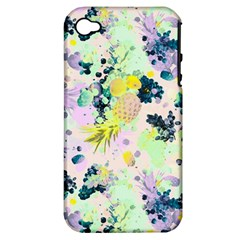 Paint Apple Iphone 4/4s Hardshell Case (pc+silicone)