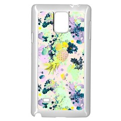 Paint Samsung Galaxy Note 4 Case (white) by Brittlevirginclothing