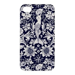 Deep Blue Apple Iphone 4/4s Premium Hardshell Case by Brittlevirginclothing